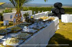 Buffet aperitivos Hacienda Los Parrales