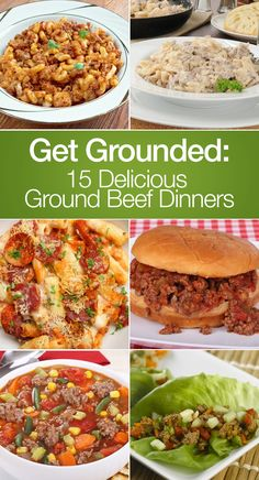 Get Grounded: 15 Delicious Ground Beef Dinners