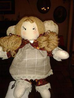 angelo di pezza#bambola di pezza #rag doll#creative sewing