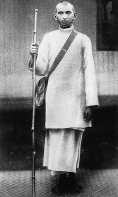 A young Gandhi pictured around 1883. Rare and unseen pictures of Mahatma Gandhi