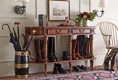 Idea for Entryway/Boot rack - One King Lane