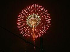 Fireworks (Sumida-gawa River), July 30, 2005