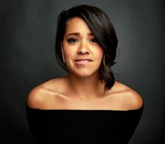 "lizziebennets: "" Gina Rodriguez for the SAG Foundation """