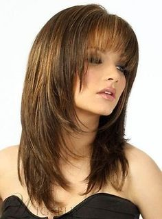 20 Best Hairstyles For Long Faces Hair Styles Color Pinterest