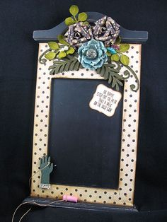 We love chalkboards! Another stunning creation by @Sherry Cheever on our blog today!