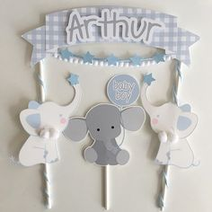 #caketopper for a #babyshower! #orlando  #baby #papergoods