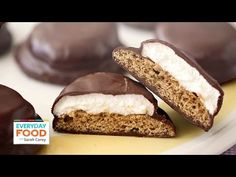 Chocolate Covered Marshmallow Cookie