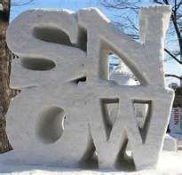 in lui of a snowman........