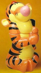 Tigger Cookie Jar made in China for Disney Home