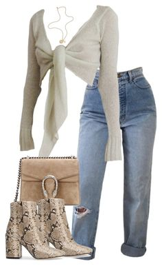 """Untitled #5258"" by theeuropeancloset on Polyvore featuring Gucci, Vince Camuto and Mulberry"