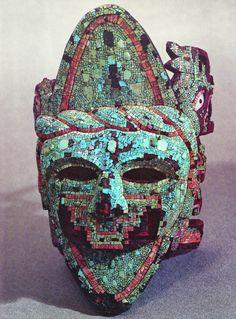 Aztec jade mask