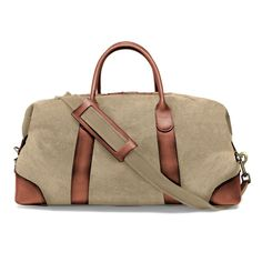 Duffel Weekender - beige Weekender, Travel Bag, Gym Bag, Beige, Ash Beige
