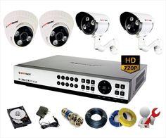 Bộ camera quan sát AHD siêu nét giá tốt nhất - Phân phối lắp đặt camera quan sát HD camera giám sát giá rẻ
