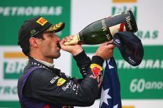 Mark Webber - Mark Webber Photos - Grand Prix of Brazil - Zimbio Rod Laver Arena, Mark Webber, Red Bull Racing, Formula One, Grand Prix, F1, Photos, Brazil, Door Prizes
