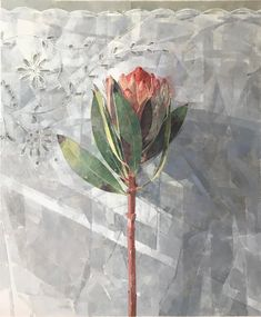 Jeannie Kinsler: Portrait Of A Protea I: fine art | StateoftheART Protea Art, Encaustic Art, Buy Art Online, Art Market, Beautiful Paintings, Canvas Size, Original Artwork, Watercolor, Fine Art