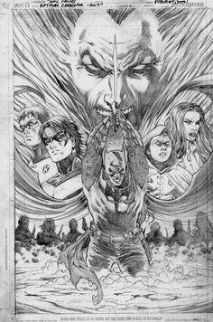 BATMAN: RESURRECTION OF RA'S promo art//Tony S. Daniel/D - E/ Comic Art Community GALLERY OF COMIC ART