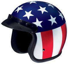 Stars and stripes helmet