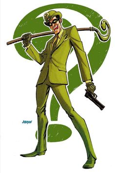 The RIddler --- by Dave Johnson