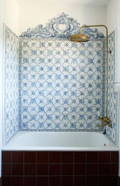 Natural Brass Shower Head | Bathroom