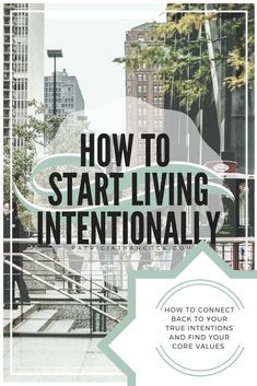 An easy, fundamental guide to begin your intentional life. Here you can find actionable steps to understand what intentional living is and how to take the first steps towards implementing it into your life. These steps will build a solid foundation for you and your steps towards being more mindful and intentional.