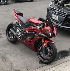 Yamaha Motorbikes, Motos Honda, Yamaha Yzf R6, Motorbike Girl, Custom Cafe Racer, Cool Motorcycles, Sportbikes, Bike Life, Custom Bikes