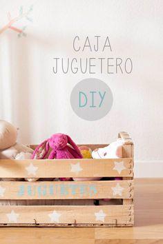 Caja juguetero DIY
