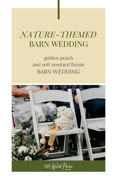 Take a look through Genna   Haydn's wedding gallery and be inspired by the beautiful golden peach   soft mustard floral arrangements. The Barn of Chapel Hill has an in-depth floral design process that focuses largely on color theory. Read the process Wild Flora Farm goes through to incorporate contrasting yet complimentary tones to wedding color palettes and get ready to be inspired!