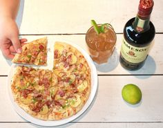 At Rocky Mountain Flatbread we serve delicious seasonal flatbread pizzas, pastas, soups, salads, desserts, and a selection of BC wines and local craft beer.