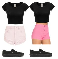 """Untitled #19"" by zain-mjalli on Polyvore featuring Topshop and Vans"