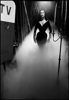 Vampira photographed by Dennis Stock.