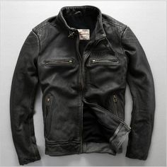 http://www.aliexpress.com/store/product/FREE-SHIPPING-2016-Men-Genuine-Vintage-Leather-Motorcycle-Jacket-Black-Stand-Collar-Real-Cowhide-Slim-Fit/1166265_32681732042.html