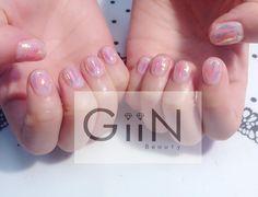 Blush X Candy  #nail #nails #nailart #nailpolish #naildesign #manicure #nailstagram #nailsalon #instanails #nails2inspire #ネイル #beautiful #gelnail #gelnails #polish #naildesigns #pretty #girl #asian #grey #stone #marble #glass #blush #nailart #nailswag