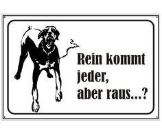 Schild Wachhund / mehr Infos auf: www.Guntia-Militaria-Shop.de