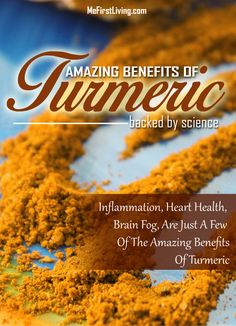 8 benefits of #turmeric backed by science.