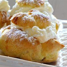 Cream Puffs Allrecipes.com