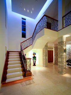 ironwork on staircase