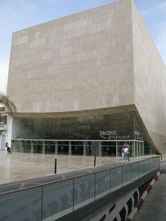 MUNICIPAL THEATRE and AUDITORIUM, Torrevieja, 2006 - Alejandro Zaera-Polo and Maider Llaguno Architecture, Farshid Moussavi Architecture