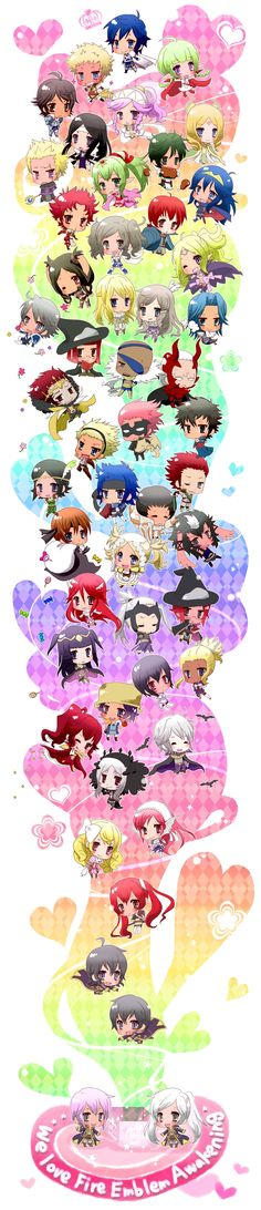 Best chibi collection EVER!!!! Holla if you can name every single one - i respect that. ♥