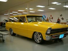 1967  Chevy II station wagon