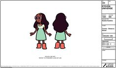 """""""Connie"""" from Steven Universe - Steven Crewniverse Behind-The-Scenes Universe"""