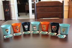 Octonauts Party Favor Kit...Includes 7 Tin by DetailsandAccents, $38.00