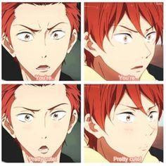 Seijuro Mikoshiba and Momotarou Mikoshiba - Free! Anime Manga, Anime Guys, Momotarou Mikoshiba, Anime City, Free Eternal Summer, Splash Free, Free Iwatobi Swim Club, Kyoto Animation, Free Anime