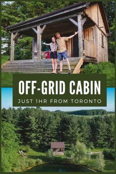 This off-grid cabin stay is located just 1 hour from Toronto! If you're looking of a unique stay not too far from the city, this cozy off-grid cabin set on a farm in Schomberg, Ontario comes with its own private pond and a small forest. It's the perfect nature escape to recharge out in nature. #offgrid #offgridcabin #offgridairbnb #cabin #tinyhouse #tinyhome #toronto #ontario #natureescape Off Grid Cabin, Off The Grid, Canada Travel, Quebec, Canoe, Time Travel, Ontario, Backpacking, Pond