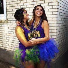 Kappa Kappa Gamma at University of New Mexico #KappaKappaGamma #KKG #Kappa #BidDay #tutu #sorority #UNB