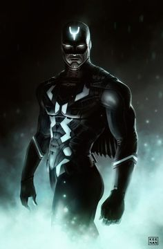 Black Bolt by dKeeNo44 #dKeeNo44 #BlackBolt #Inhumans #Attilan #Illuminati