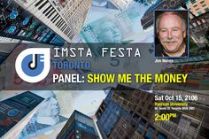 "IMSTA  FESTA Toronto is proud to host another exciting panel series featuring  industry leaders and their fresh perspectives on music production  including our very own president, Jim Norris.On  Saturday, October 15th at 2pm, Jim will present a free professional  seminar titled ""Show me the Money. This seminar will look at how to get funding for yourself, your band, your company or your organization and provide direction on how to write a business plan and a funding proposal that get…"