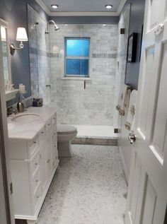 99 Small Master Bathroom Makeover Ideas On A Budget (66)