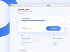 Uploading Suppliers details