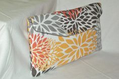 Bridesmaid Clutch /SALE and FREE SHIPPING/Fold Over by Kath1974, $17.00.  Need a Custom Clutch? This is just a sample of one of the beautiful fabrics I have available for your clutch in my ETSY shop, over 130 available! Come and check it out!