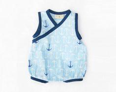 TEDDYs Romper Baby sewing pattern Pdf Woven Bubble par PUPERITA